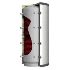 Akumuliacinė talpa TVPSRR0800 Su 2 šilumokaičiais